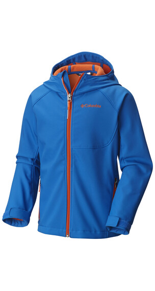 Columbia Cascade Ridge Softshell Jacket Boys Super Blue